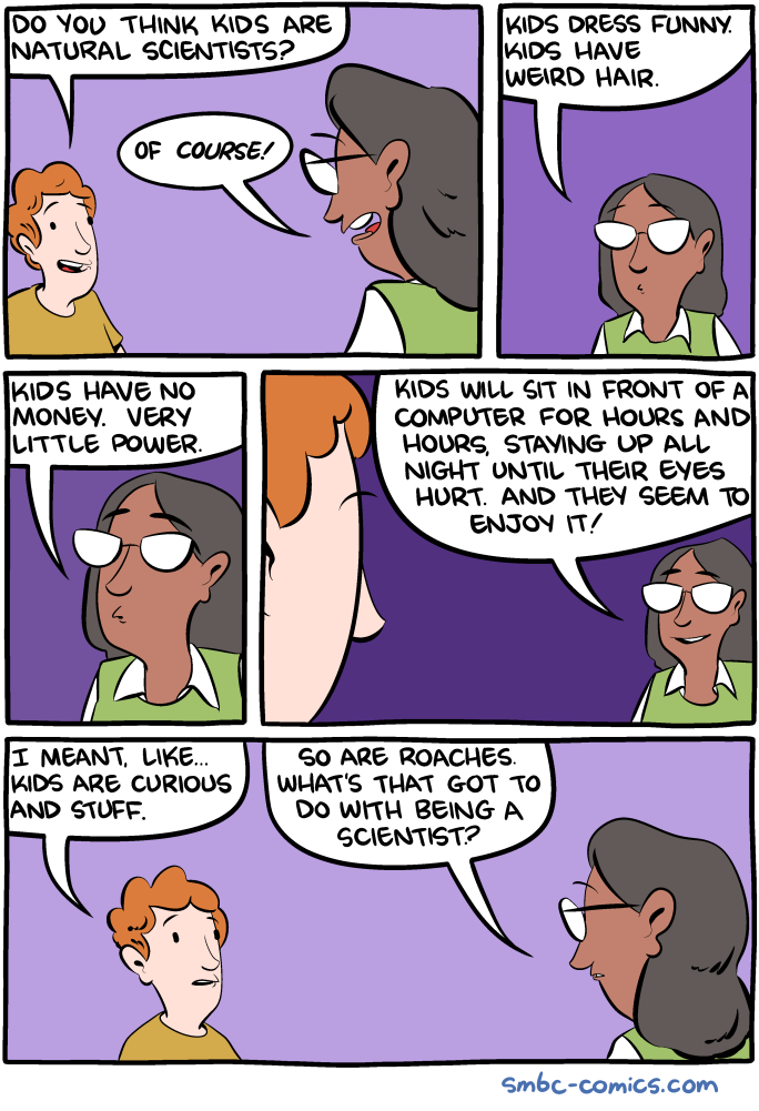 SMBC - Natural Scientists