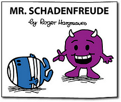 mr schadenfreude by roger hargreaves
